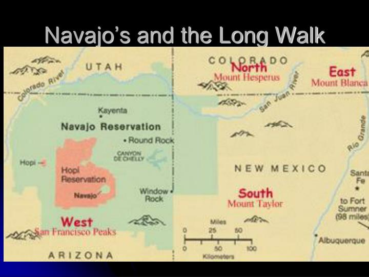 Navajo's and the Long Walk