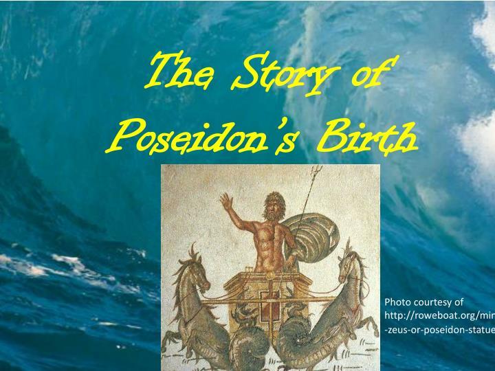 The Story of Poseidon's Birth