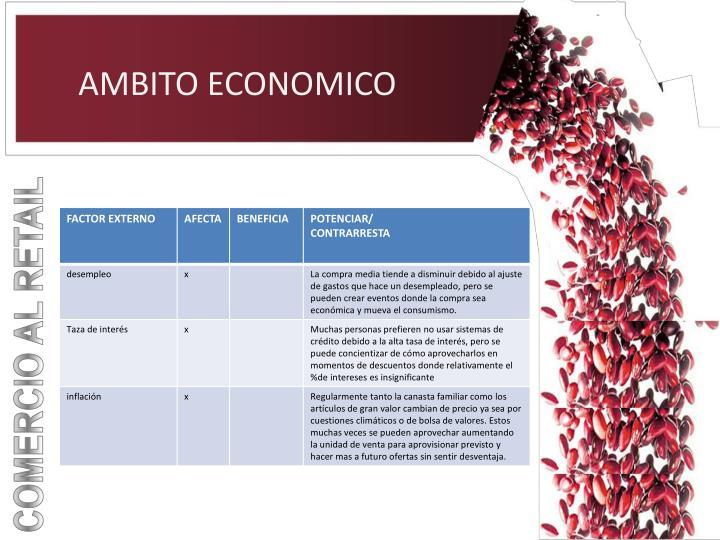AMBITO ECONOMICO