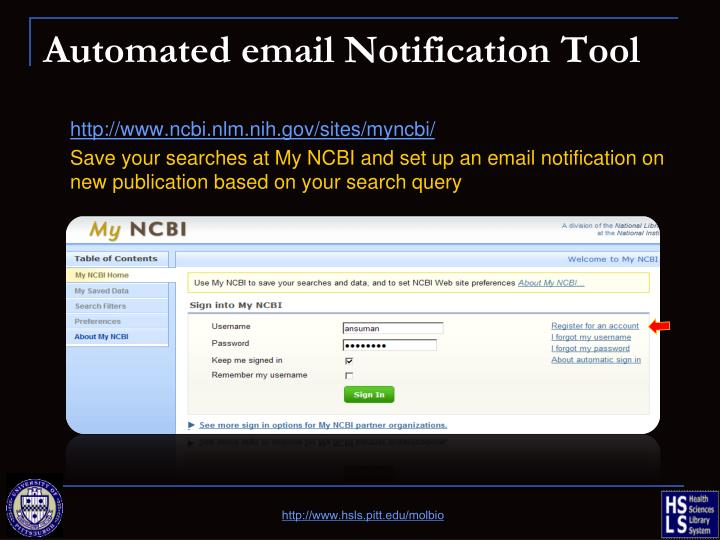 Automated email Notification Tool