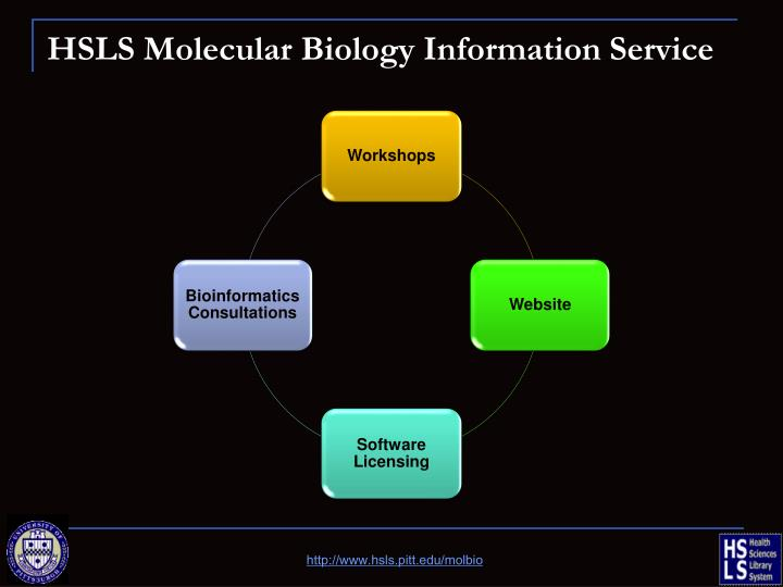 HSLS Molecular Biology Information Service