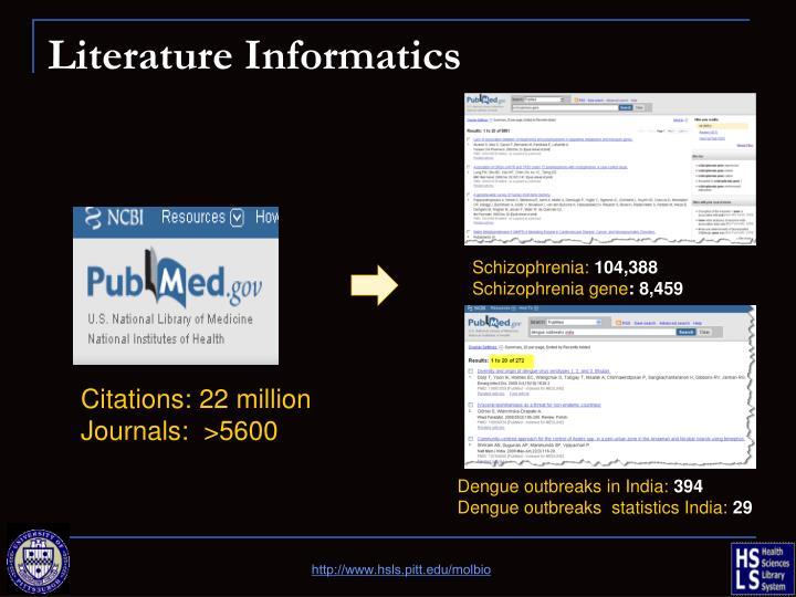 Literature Informatics