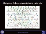 metacore atherosclerosis core network
