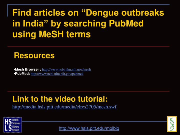 "Find articles on ""Dengue outbreaks"