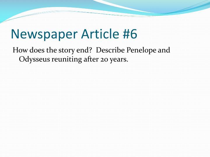 Newspaper Article #6