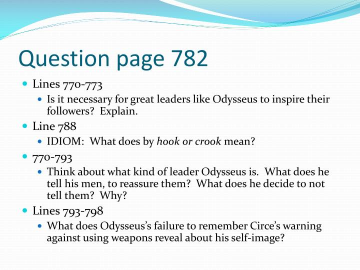 Question page 782