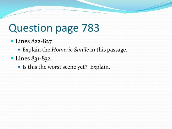 Question page 783