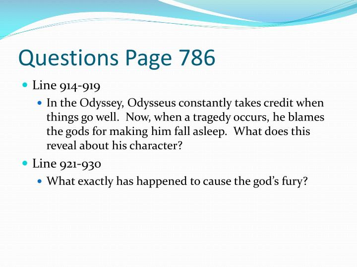 Questions Page 786