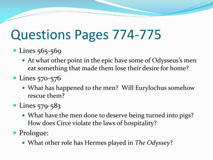 Questions Pages 774-775