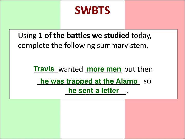 SWBTS