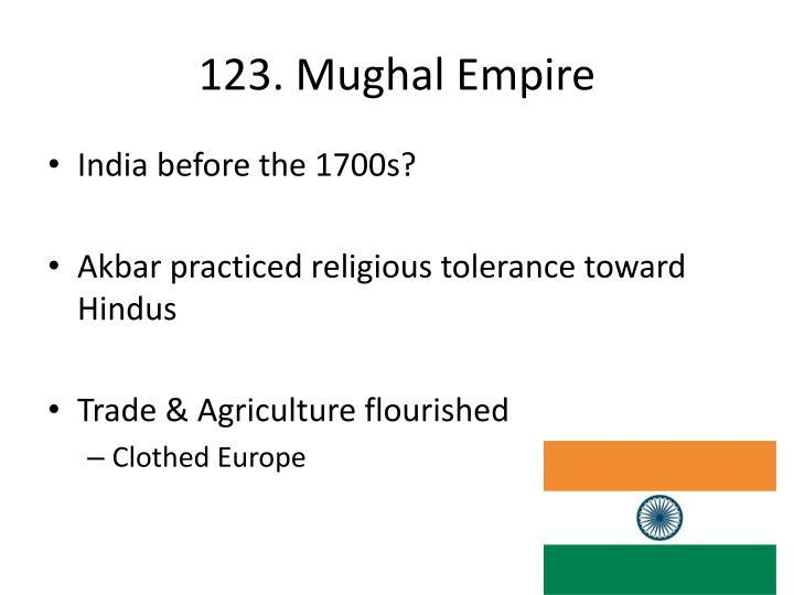 123. Mughal Empire