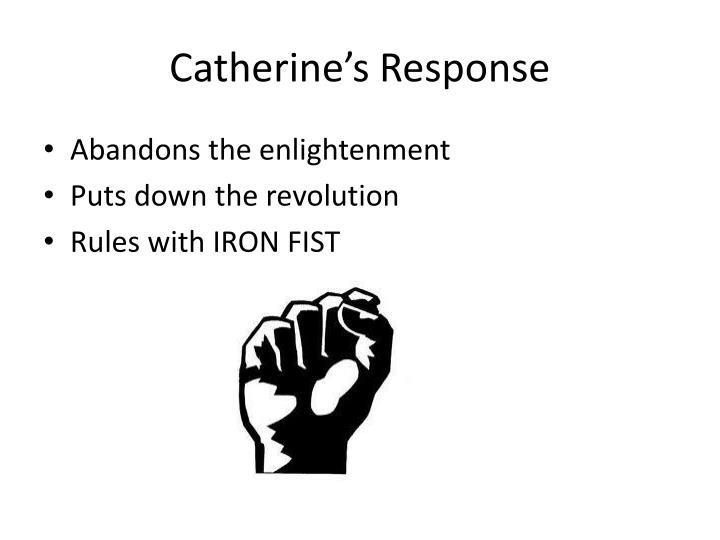 Catherine's Response