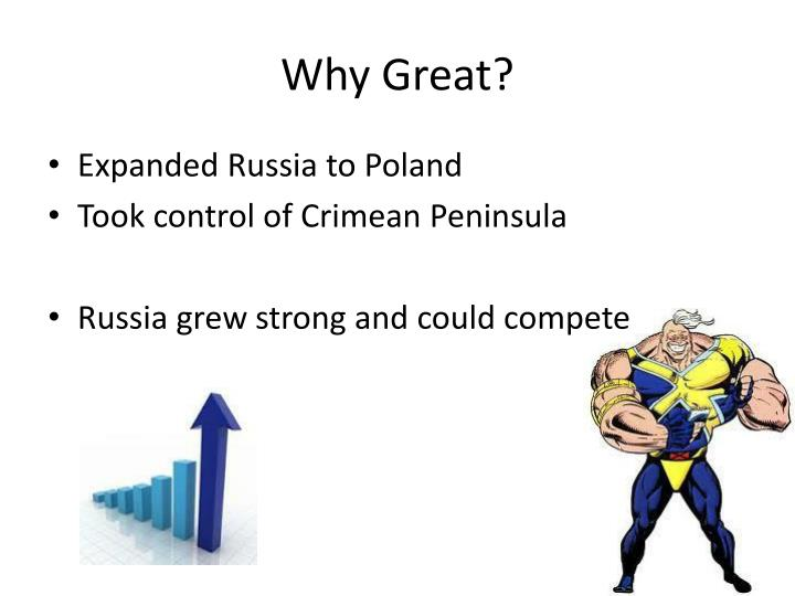 Why Great?