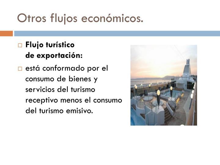 Otros flujos económicos.