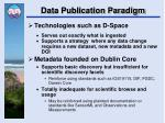 data publication paradigm1