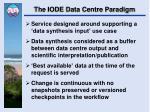 the iode data centre paradigm2