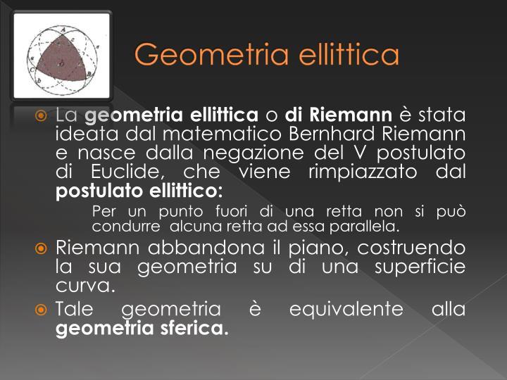 Geometria ellittica