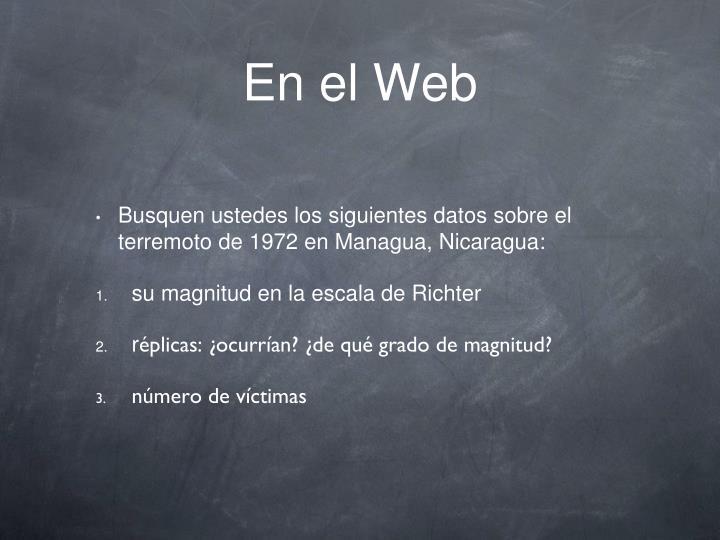 En el Web