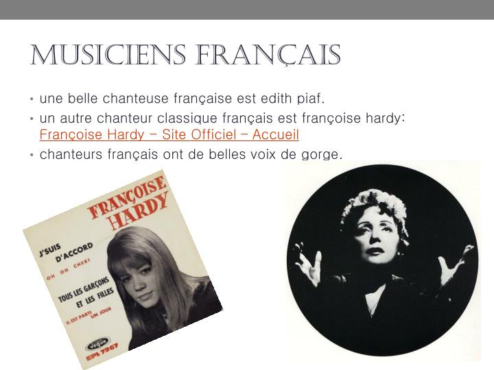 musiciens français