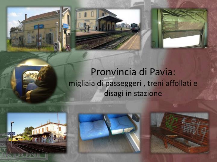 Pronvincia di Pavia: