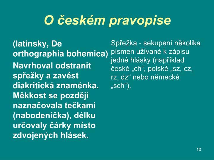 (latinsky, De