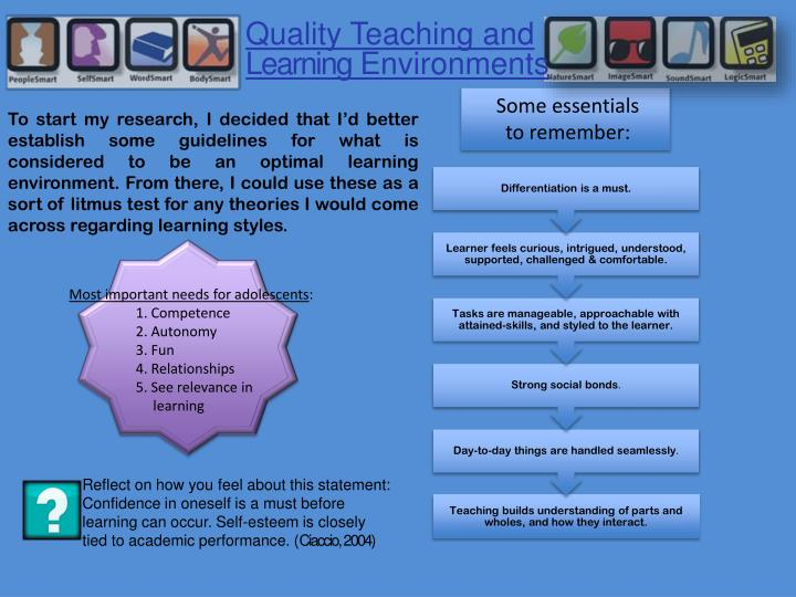 Quality Teaching and
