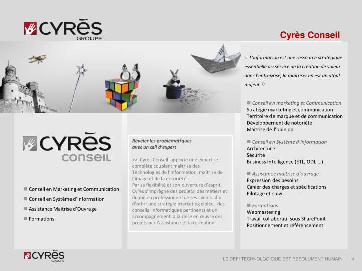 Cyrès Conseil