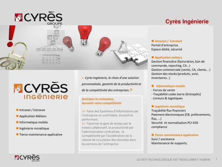 Cyrès Ingénierie