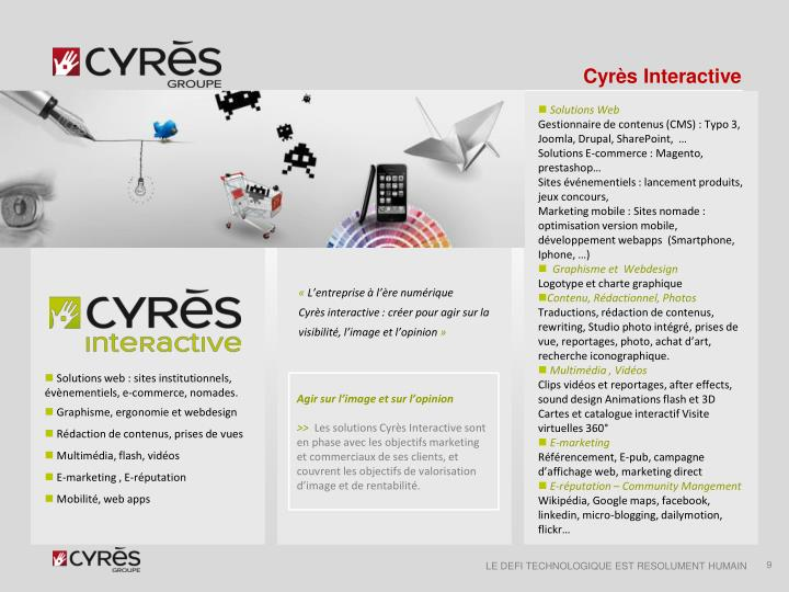 Cyrès Interactive
