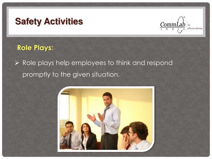 Safety Activities
