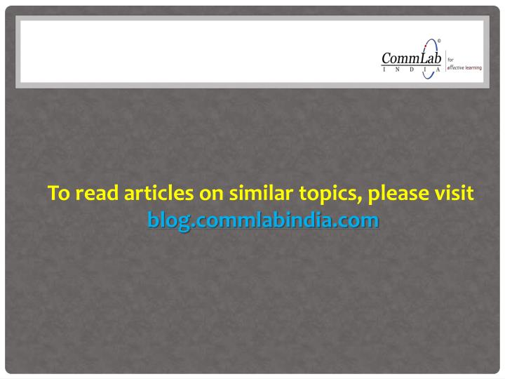 To read articles on similar topics, please visit