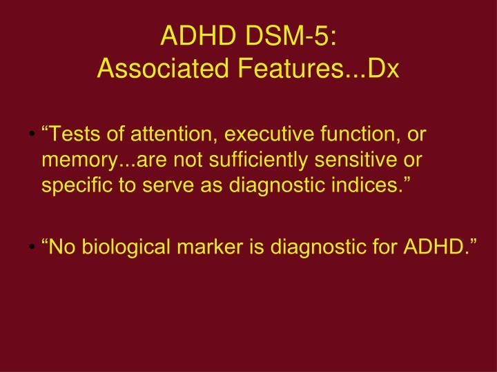 ADHD DSM-5: