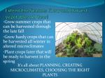 extend the season grow and harvest vegetables all year