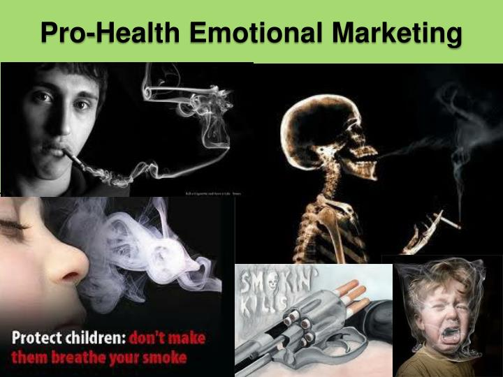 Pro-Health Emotional Marketing