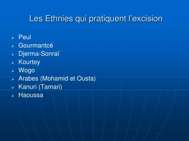 Les Ethnies