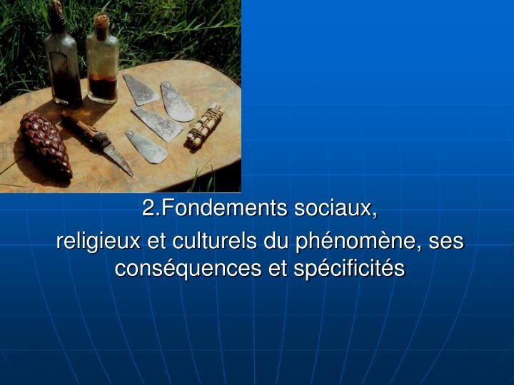2.Fondements