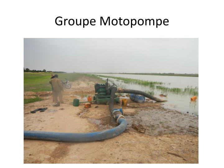 Groupe Motopompe