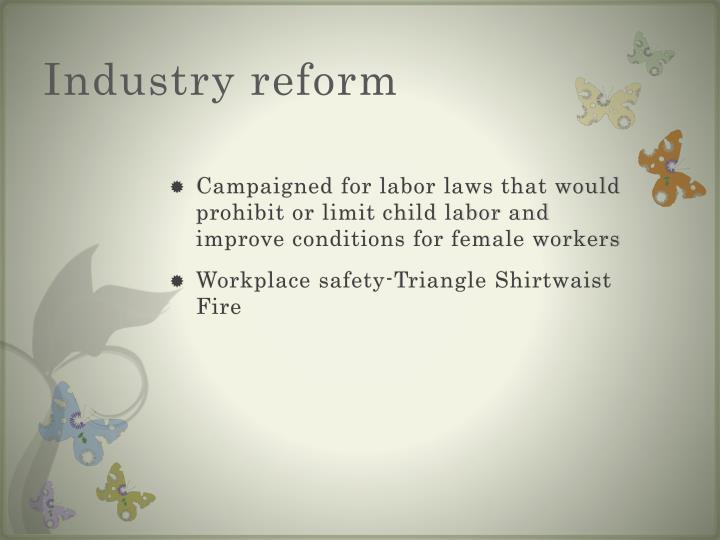Industry reform