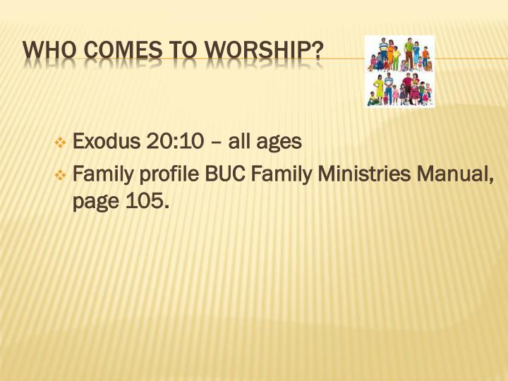 Exodus 20:10 – all ages