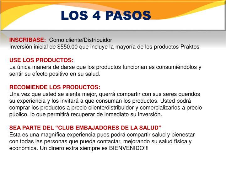LOS 4 PASOS
