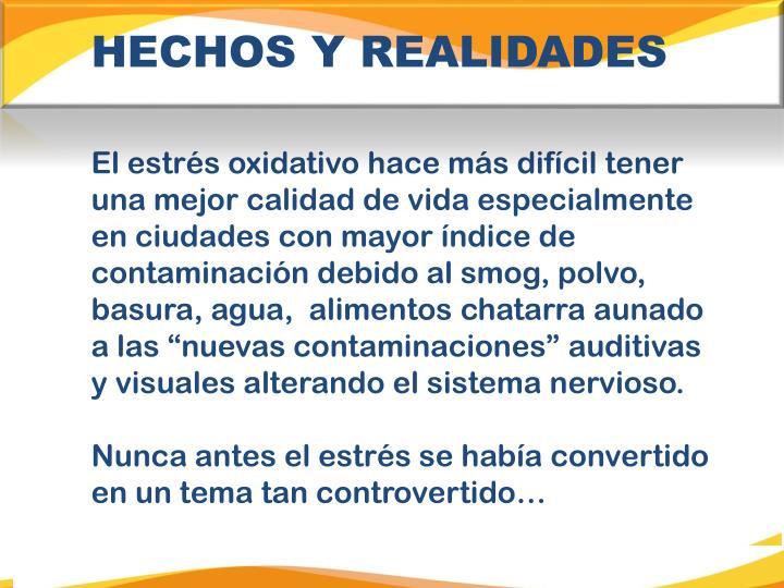 HECHOS Y REALIDADES