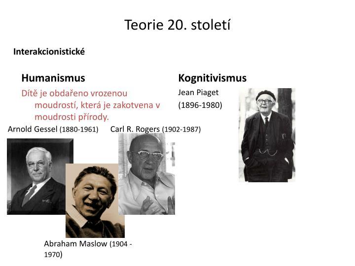 Teorie 20. století