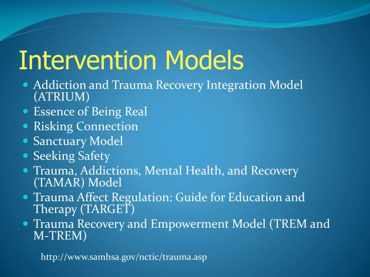 Intervention Models