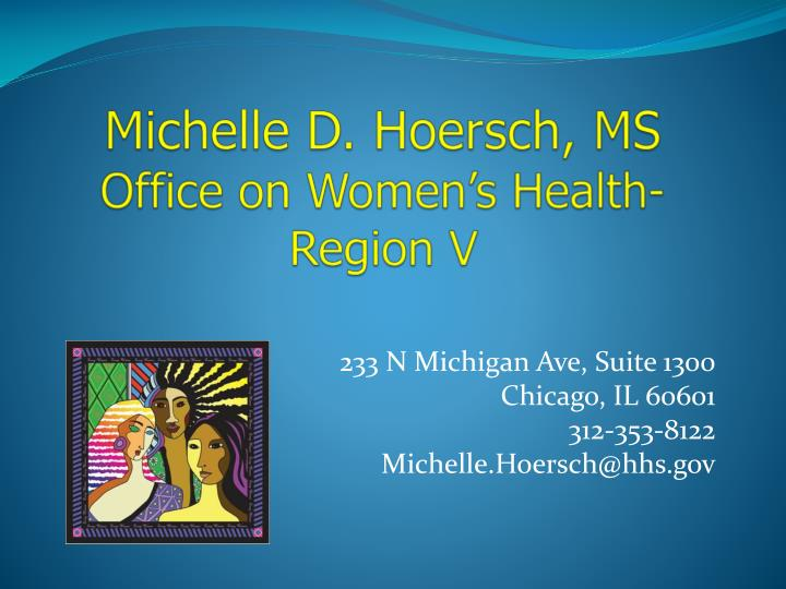 Michelle D. Hoersch, MS