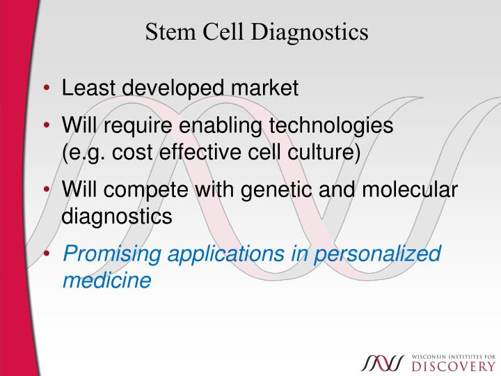 Stem Cell Diagnostics