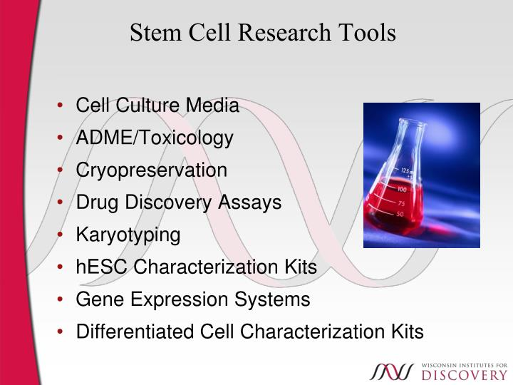 Stem Cell Research Tools
