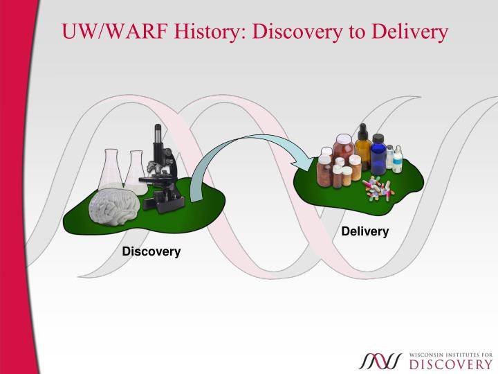 UW/WARF History: Discovery to Delivery