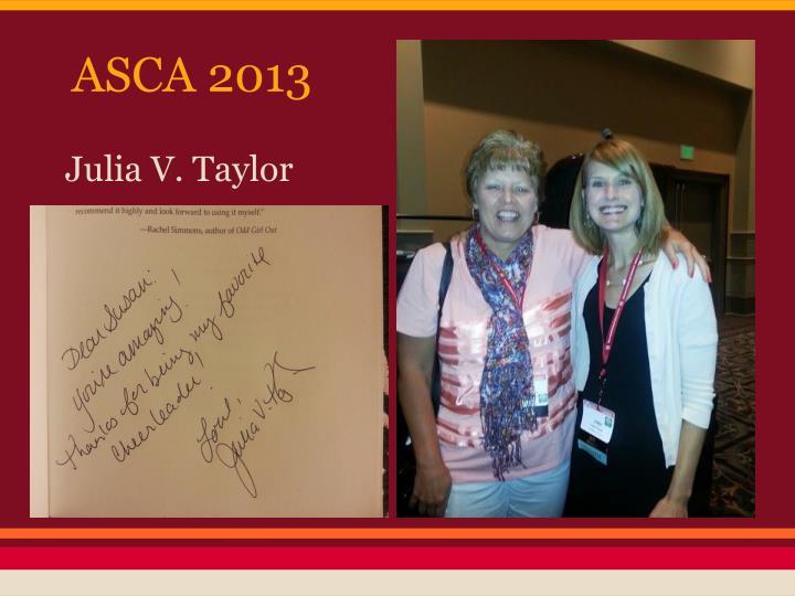 ASCA 2013