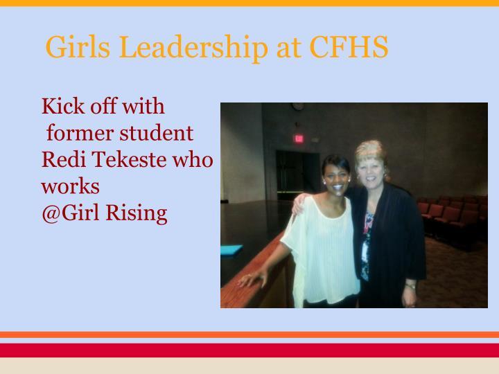 Girls Leadership at CFHS