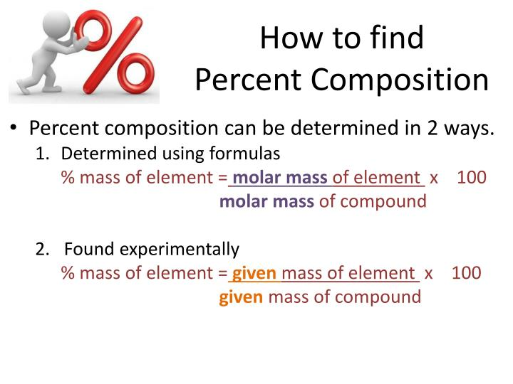 ppt percent composition amp chemical formulas empirical